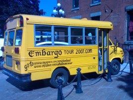 la havana bus embargo